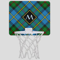 Clan MacLeod Hunting Tartan Mini Basketball Hoop