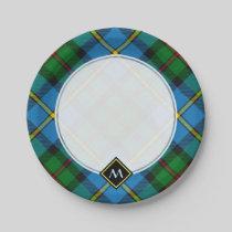 Clan MacLeod Hunting Tartan Paper Plate