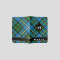 Clan MacLeod Hunting Tartan Passport Holder