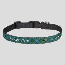 Clan MacLeod Hunting Tartan Pet Collar
