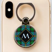 Clan MacLeod Hunting Tartan Phone Ring Stand