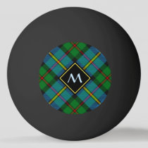Clan MacLeod Hunting Tartan Ping Pong Ball