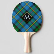 Clan MacLeod Hunting Tartan Ping Pong Paddle