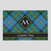 Clan MacLeod Hunting Tartan Placemat