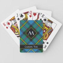 Clan MacLeod Hunting Tartan Playing Cards