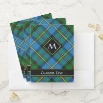 Clan MacLeod Hunting Tartan Pocket Folder