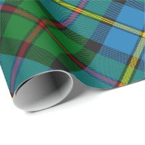 Clan MacLeod Hunting Tartan Rotated Wrapping Paper