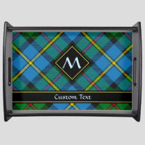 Clan MacLeod Hunting Tartan Serving Tray