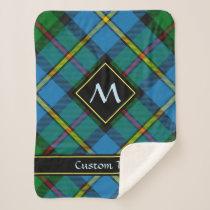Clan MacLeod Hunting Tartan Sherpa Blanket