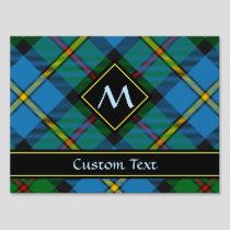Clan MacLeod Hunting Tartan Sign