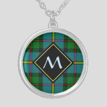 Clan MacLeod Hunting Tartan Silver Plated Necklace