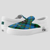 Clan MacLeod Hunting Tartan Slip-On Sneakers
