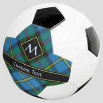 Clan MacLeod Hunting Tartan Soccer Ball