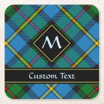 Clan MacLeod Hunting Tartan Square Paper Coaster