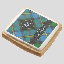 Clan MacLeod Hunting Tartan Square Shortbread Cookie