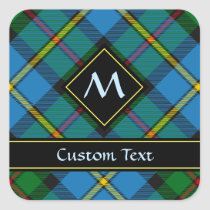 Clan MacLeod Hunting Tartan Square Sticker