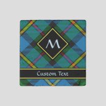 Clan MacLeod Hunting Tartan Stone Magnet