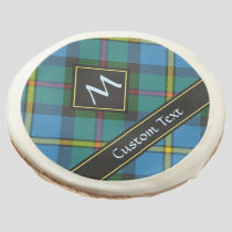 Clan MacLeod Hunting Tartan Sugar Cookie