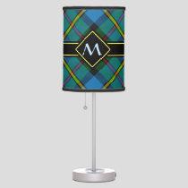 Clan MacLeod Hunting Tartan Table Lamp