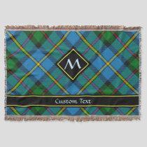 Clan MacLeod Hunting Tartan Throw Blanket
