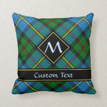 Clan MacLeod Hunting Tartan Throw Pillow