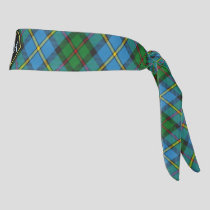 Clan MacLeod Hunting Tartan Tie Headband