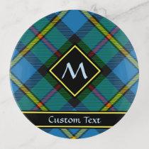 Clan MacLeod Hunting Tartan Trinket Tray