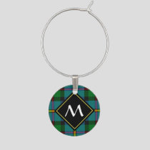 Clan MacLeod Hunting Tartan Wine Charm