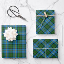 Clan MacLeod Hunting Tartan Wrapping Paper Sheets