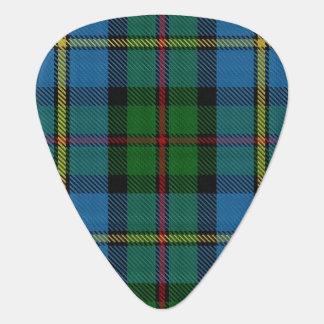 Clan MacLeod of Harris Sounds of Scotland Tartan Guitar Pick
