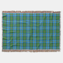 Clan MacLeod of Harris Tartan Design Throw