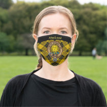Clan MacLeod of Lewis Crest Adult Cloth Face Mask