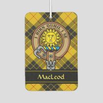Clan MacLeod of Lewis Crest Air Freshener
