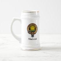 Clan MacLeod of Lewis Crest Beer Stein