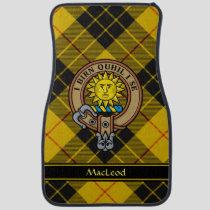 Clan MacLeod of Lewis Crest Car Floor Mat