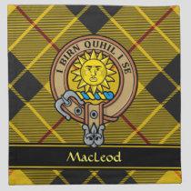 Clan MacLeod of Lewis Crest Cloth Napkin