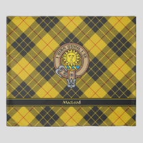 Clan MacLeod of Lewis Crest Duvet Cover