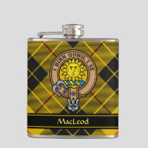 Clan MacLeod of Lewis Crest Flask