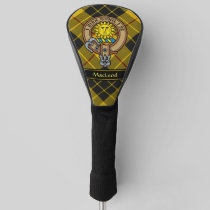 Clan MacLeod of Lewis Crest Golf Head Cover