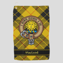 Clan MacLeod of Lewis Crest Golf Towel