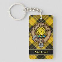 Clan MacLeod of Lewis Crest Keychain