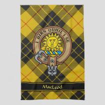 Clan MacLeod of Lewis Crest Kitchen Towel