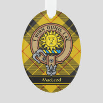 Clan MacLeod of Lewis Crest Ornament