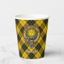 Clan MacLeod of Lewis Crest Paper Cups