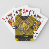 Clan MacLeod of Lewis Crest Playing Cards