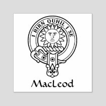 Clan MacLeod of Lewis Crest Self-inking Stamp