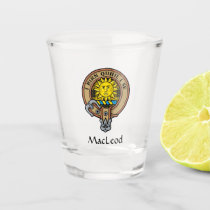 Clan MacLeod of Lewis Crest Shot Glass