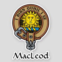 Clan MacLeod of Lewis Crest Sticker
