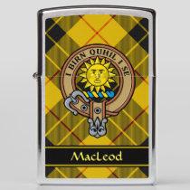 Clan MacLeod of Lewis Crest Zippo Lighter