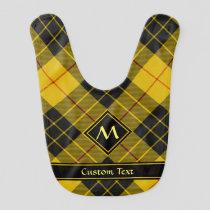 Clan Macleod of Lewis Tartan Baby Bib